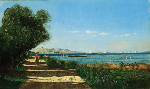 Landscape in Martigues