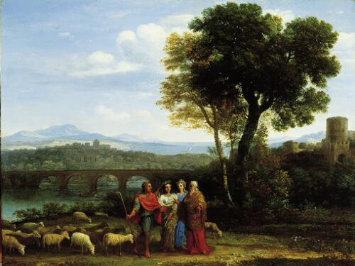 Landscape with Jacob and Laban and His Daughters
