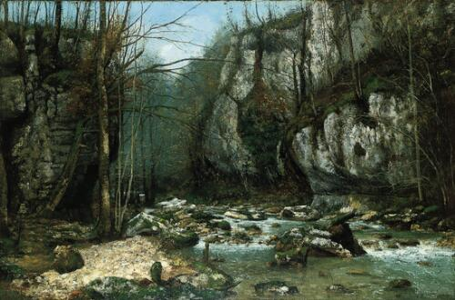 Stream of the Puits-Noir at Ornans