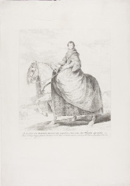 Copies after Velázquez: Isabel de Borbón