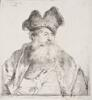 Rembrandt van Rijn - Old Man with a Divided Fur Cap