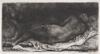 Rembrandt van Rijn - Negress Lying Down