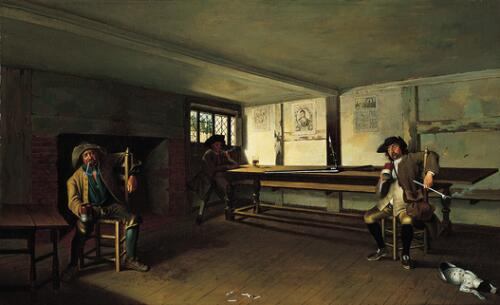 Sportsmen in a Tavern