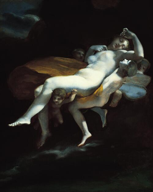The Abduction of Psyche by Zephyrus to the Palace of Eros