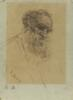 Aronson, Naum Lvovich - A Portrait of Count Leo Tolstoy