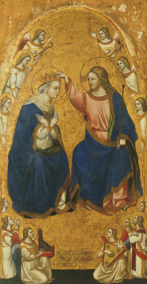 Coronation of the Virgin Altarpiece:  Coronation of the Virgin