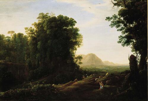 Landscape with a Piping Shepherd