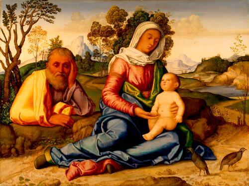 The Rest on the Flight into Egypt