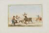 Carnicero, Don Antonio - Collection of Principal Moves in a Bullfight: Dogs Are Set Loose on the Bull