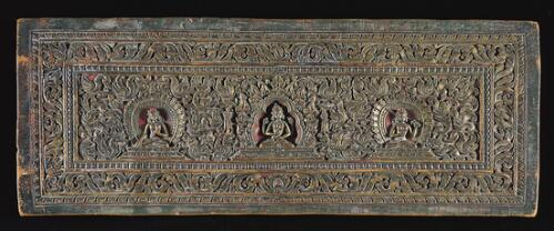 Cover of a Prajnaparamita Manuscript