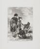 Delacroix, Eugene - Hamlet: Hamlet and Horatio with the Grave Diggers
