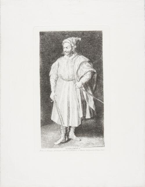 Copies after Velázquez: Barbarroxa (Pernia)