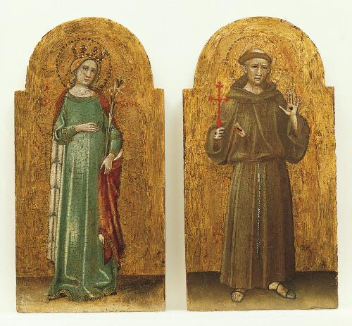 Coronation of the Virgin Altarpiece:  Saint Francis