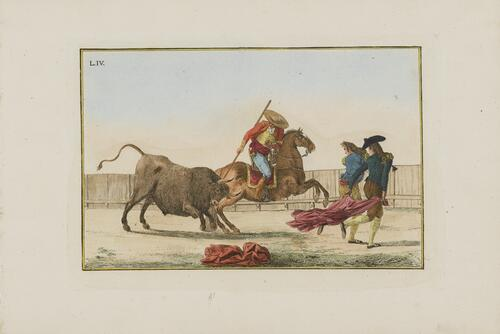 Collection of Principal Moves in a Bullfight: Spearing the Bull Crosswise
